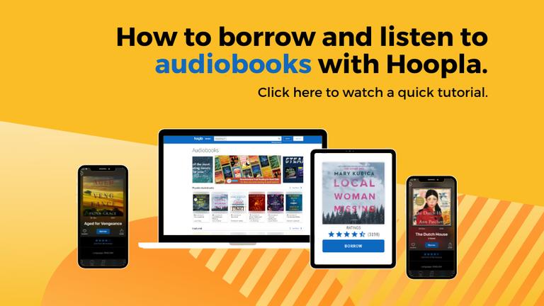 Hoopla Audiobook Tutorial